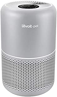 LEVOIT Air Purifier for Home Allergies and Pets Hair Smokers in Bedroom, H13 True HEPA Filter, 24db Filtration