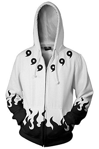 - ValorSoul Adult Hoodies Uniform Jacket Cosplay Hoodies with Zippers