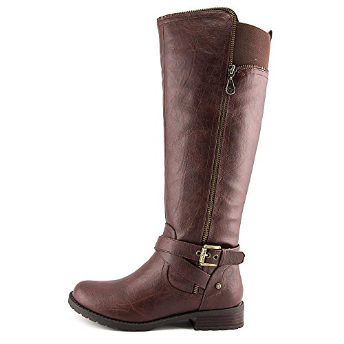 Knee 8 5 Guess Boot US Women High G By Brown Halsey ZxO6qwP8