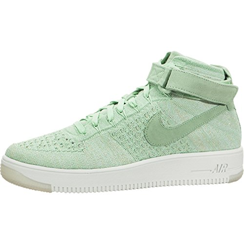 Nike Womens AF1 Air Force 1 Flyknit Hi Top Trainers 81801...