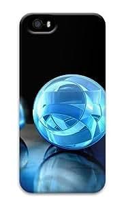 3D crystal sphere 2 3D Case coolest iphone 5c case for Apple iphone 5c