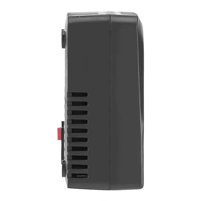 g/érmenes US Plug 100-130V al/érgenos Moho Jeffergarden Negro Inteligente Negativo Ion Anion Generator Room Car Ionizer Purificador de Aire Elimina: contaminantes