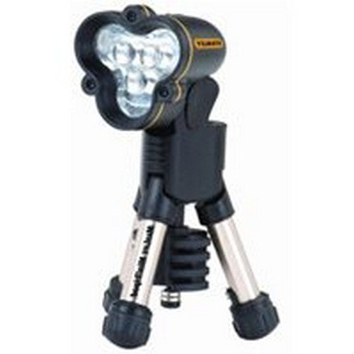 (MaxLife Mini Tripod LED Flashlight, Three AA Batteries,)