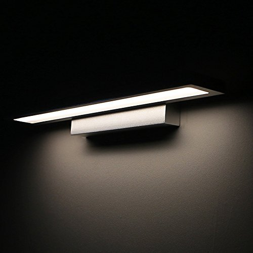 &Badezimmerbeleuchtung Spiegel Frontleuchte All-Aluminium LED Einfache Moderne Mode Schrank Lichter Ankleidezimmer Badezimmer Wasserdicht Anti-Fog Spiegel Scheinwerfer Licht