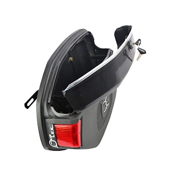 R.J.VON - RJEXUNIVSB1 Universal Saddle Bag for All Bikes (Black)