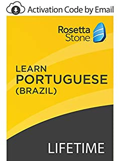 Rosetta Stone: Learn Portuguese (Brazil) with Lifetime Access on iOS, Android, PC, and Mac [Activation Code by Email] (B07GJJYQDX) | Amazon price tracker / tracking, Amazon price history charts, Amazon price watches, Amazon price drop alerts
