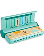 Hape Learn with Lights Harmonica   USB Charging Capabilities   Leaning and Band Mode   Musical Instrument