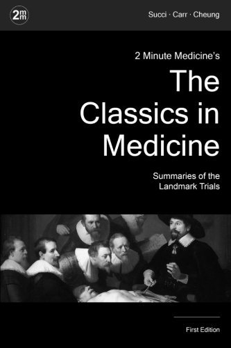 2 Minute Medicine's The Classics in Medicine: Summaries of the Landmark Trials, 1e (The Classics Series) by Marc D. Succi (2015-07-25)