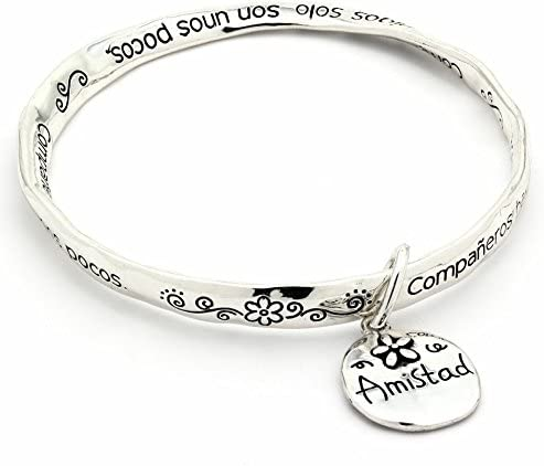 com inspired silver friendship quotes amistad mobius
