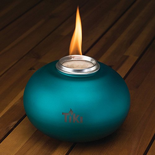 TIKI Brand Clean Burn Pearl of the Sea Tabletop Firepiece, (Sea Torch)