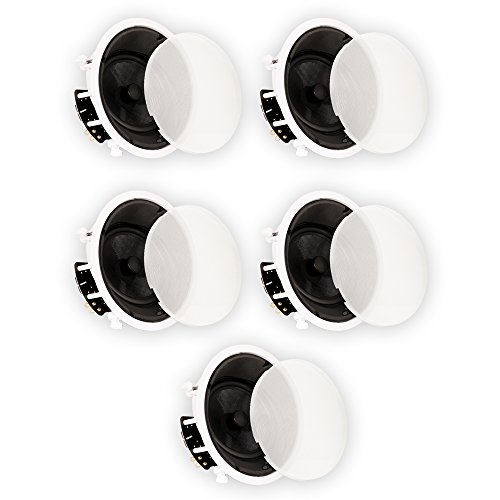 Theater Solutions TSS8A Home Theater Deluxe In Ceiling 8'' Angled 5 Speaker Set 5TSS8A by Theater Solutions