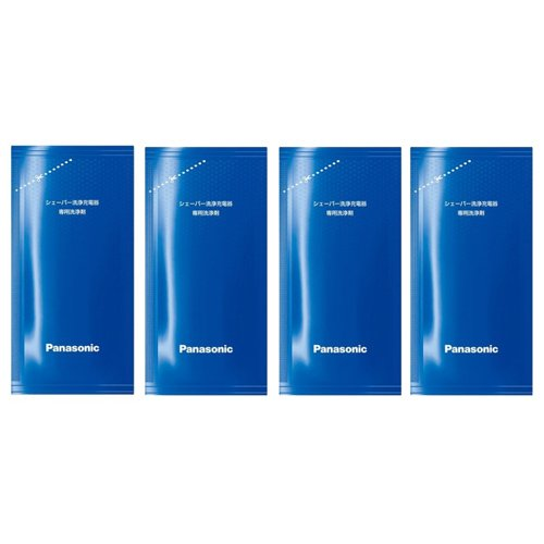 Panasonic WES4L03 Mens Shaving Cleaner Solution (4 Pack)