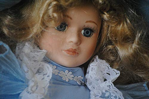 Home Comforts Doll Head Antique Porcelain Face Girl Vintage Vivid Imagery Laminated Poster Print 24 x 36