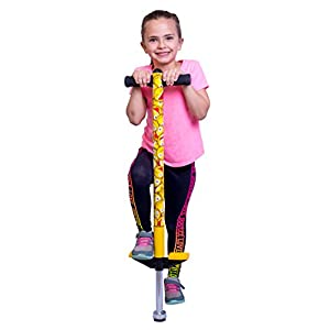 PLENY Emoji Pogo Stick for Kids 5,6,7,8,9,10 Years Old – Weight 50 to 110 Lbs
