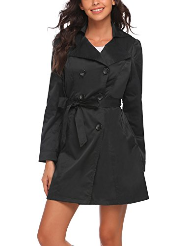 Lightweight Belted Trench Coat - 8