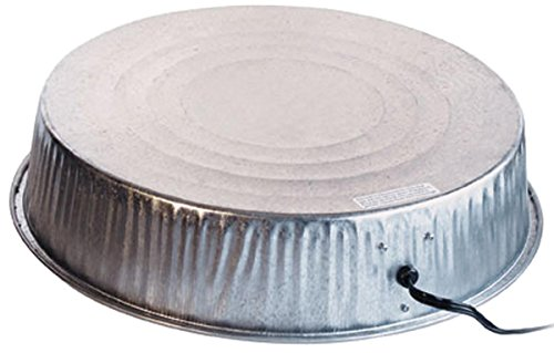 Farm Innovators Model HP-125 Heated Base For Metal Poultry Founts, 125-Watt (Water Heater Base For Chickens compare prices)