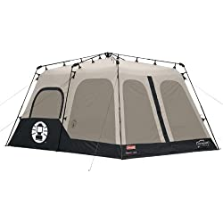 1 of Coleman Instant 8 Person Tent Black 14x10-Feet  sc 1 st  Amazon.com & Amazon.com : Coleman Instant 8 Person Tent Black 14x10-Feet and ...