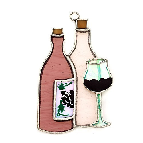 Switchables Wine Bottle Stained Glass Nightlight Cover by Switchables [並行輸入品]   B014MX9P9M