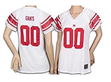 Reebok New York Giants NFL Womens Team Field Flirt Fashion Jersey ... a09e86600