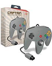 """Hyperkin """"Captain"""" Premium Controller for N64 (Gray) - Nintendo 64"""