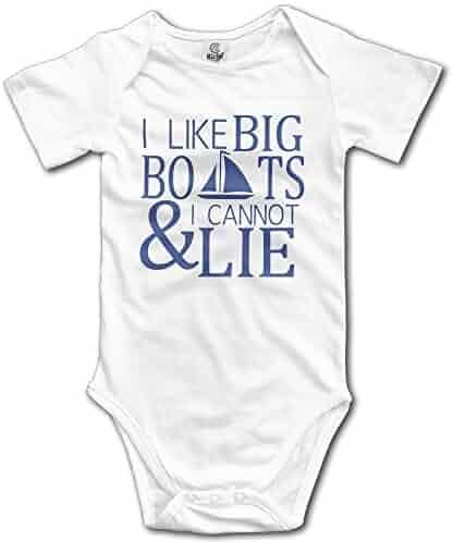 d3b68b298 Topballcap I Like Big Boats and I Cannot Lie Cruise Infant Baby Bodysuit