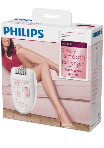 Epilatore Philips e pinzette