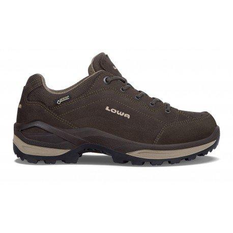 Gore Dark Beige Nubuck Boots Womens tex Lowa Renegade Brown qBwE4CY