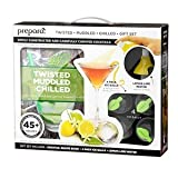Preparer's Twisted, Muddled and Chilled 6 piece gift set includes everything you need to make delicious, fresh cocktails at home. Ice Balls keep drinks colder longer without diluting. Iced, orbed greatness comes as a pack of 4, making 2 inch ...