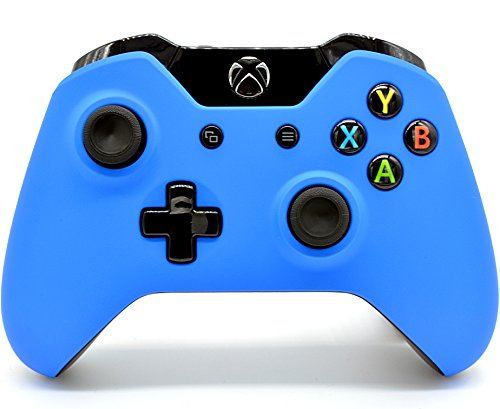 Xbox One Soft Touch CUSTOM Wireless Controller (Blue)