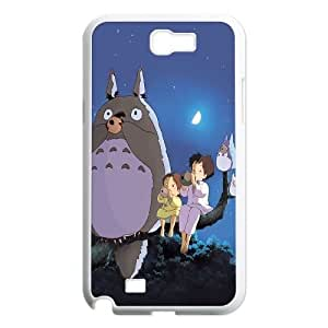 Hjqi - Personalized My Neighbor Totoro Cell Phone Case, My Neighbor Totoro Customized Case for Samsung Galaxy Note 2 N7100