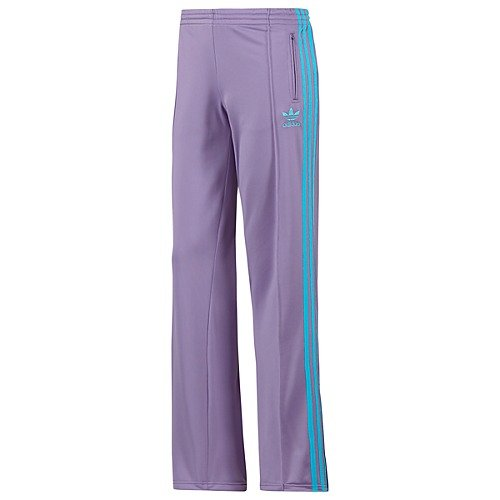 Women Firebird Track (Adidas Firebird Womens Track Pants - Super Purple / Super Cyan (Small))