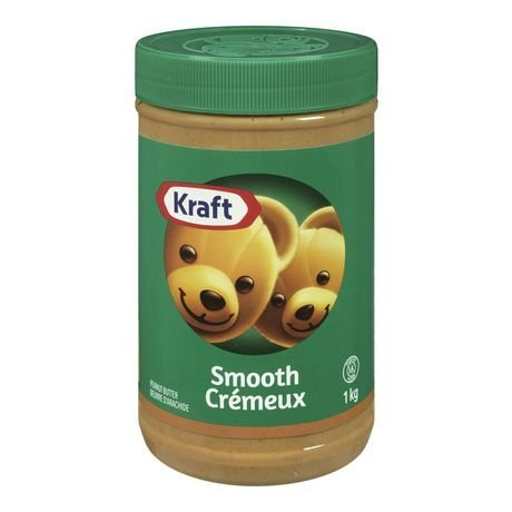 Kraft Peanut Butter Smooth 1 kg (Butter Peanut Kraft Smooth)