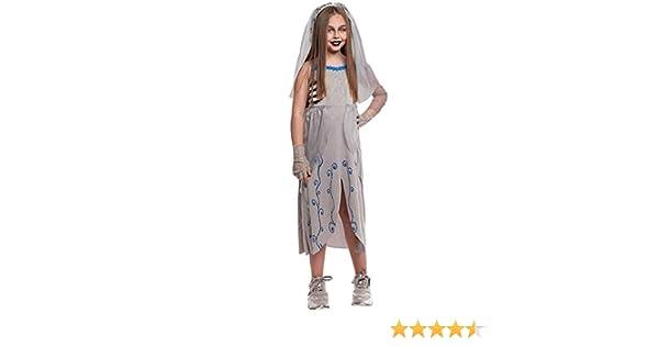 Disfraz Novia Cadáver Muerta Niña (10-12 años) Halloween (+ Tallas ...