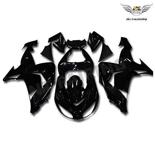 New Glossy Black Fairing Fit for Kawasaki Ninja 2006 2007 ZX10R ZX-10R Injection Mold ABS Plastics Aftermarket Bodywork Bodyframe 06 07