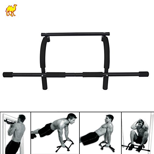 BenefitUSA Heavy-Duty Easy Xtreme Gym Doorway Push-Up/Pull-Up Bar by BenefitUSA