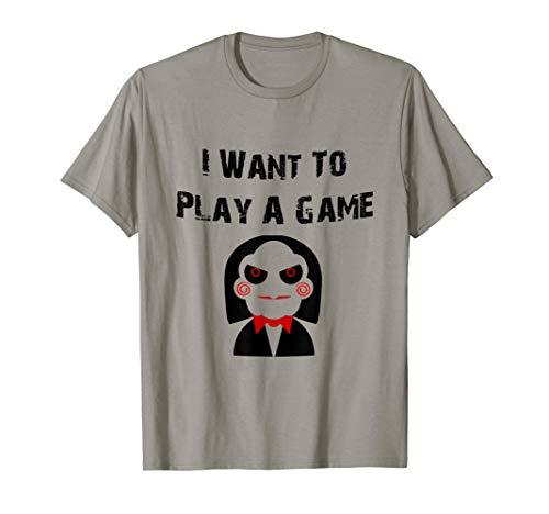 Play A Game, saw, mug, jigsaw, Samhain, Halloween, -
