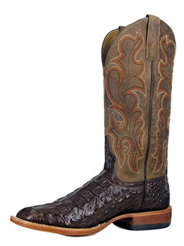 Horse Power by Anderson Bean Chocolate Nile Crocodile Men's Boots (11 2E US)