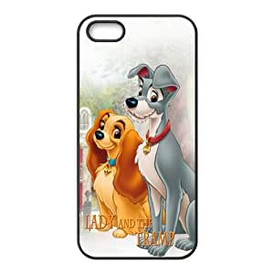 linJUN FENGLady and the tramp Cell Phone Case for iPhone 5S