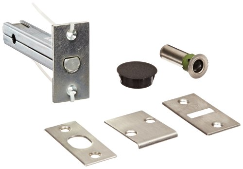 (Rockwood 2960.26D Automatic Flush Bolt With Bottom Fire Bolt for Fire Rated Wood Core & Composite Doors, 1-1/8