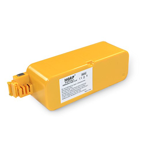 - HQRP 3300mAh Battery for iRobot 4000, 4100, 4105, 4130, 4150, 4170, 4188, 4232, 4296, 4230, 4330, 400, 405, 410, 415, 416, 418, Discovery, Dirt Dog, Create Vacuum Cleaning Robot + Coaster