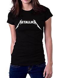 Metallica Metal Band Original Logo Women's T-Shirt