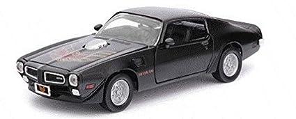 Amazon Com 1973 Pontiac Firebird Trans Am Black 1 24 By