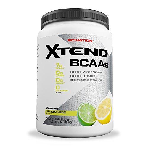 Scivation Xtend BCAA Powder, Branched Chain Amino Acids, BCAAs, Lemon Lime, 90 (Acid Lemon)