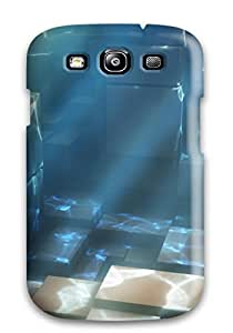 Galaxy S3 Case Cover Cubes Under Waters And Images Case - Eco-friendly Packaging