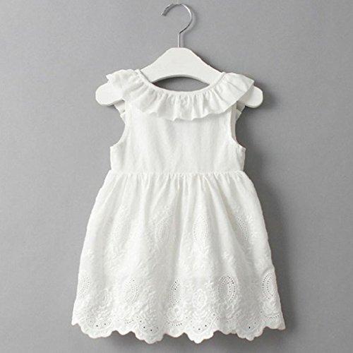 a1ef2c681 Ropa Bebe Niña Verano 2018 K-youth® Vestido Niña Fiesta Vestido Bebe Niña  Vestido