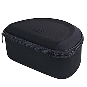 Folding Over Ear Headphone Case - August BAG650 - Travel Bag for EP650 and EP640 Bluetooth Wireless Stereo Headphones