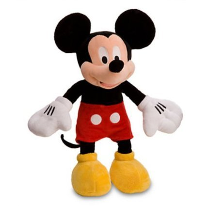 Disney Mickey Mouse Plush Toy -- 17'' - stylishcombatboots.com