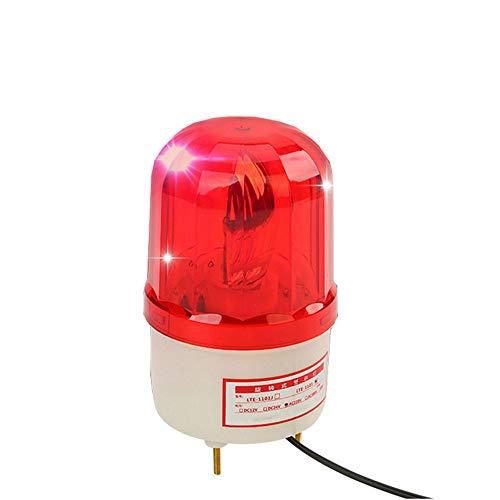 LUBAN Rotating Warning Light LED Beacon Flashing Light Industrial Strobe (AC 110V) from LUBAN