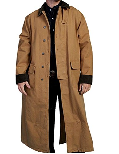 rangewear-by-scully-mens-long-canvas-duster-brown-x-large