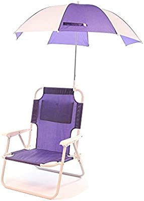 Remarkable Redmon For Kids Outdoor Baby Kids Beach Chair With Umbrella Purple Caraccident5 Cool Chair Designs And Ideas Caraccident5Info